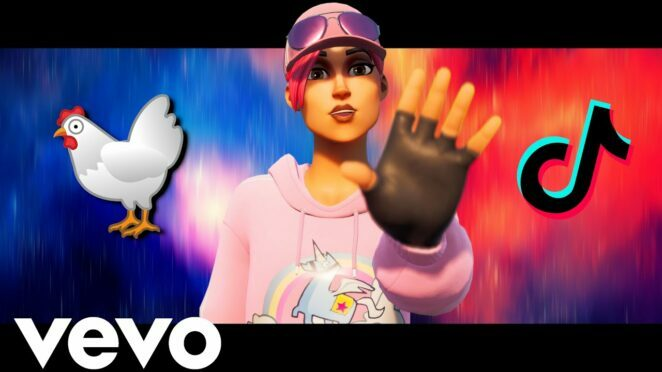 Chicken Wing EMOTE (Official Fortnite Music Video) TikTok