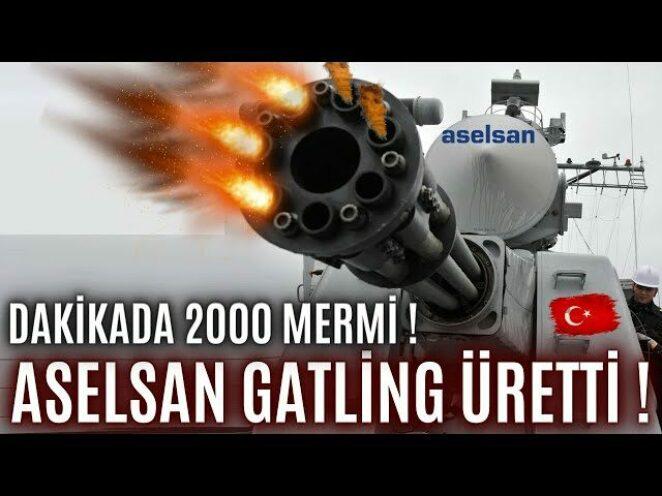 DAKİKADA 2000 MERMİ ATAN ASELSAN STAMP-G ENVANTERE GİRMEYE HAZIRLANIYOR !