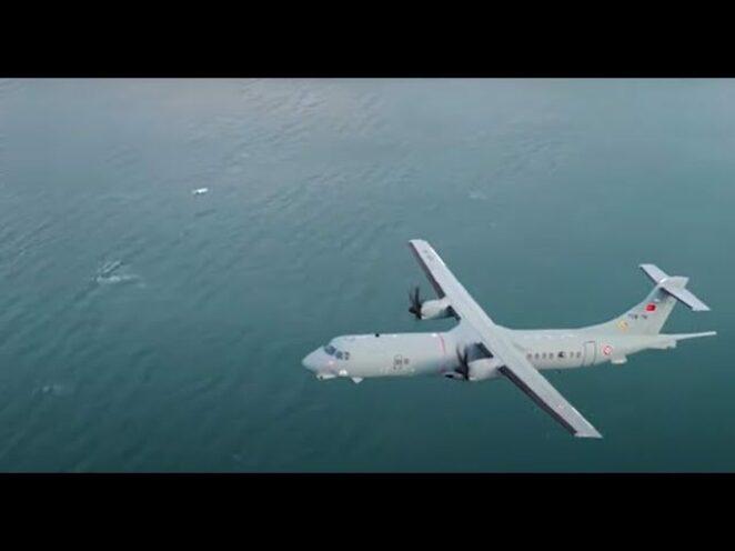 Denizaltı Avcısı P-72, Mavi Vatan'daki görev uçuşunda ilk kez görüntülendi