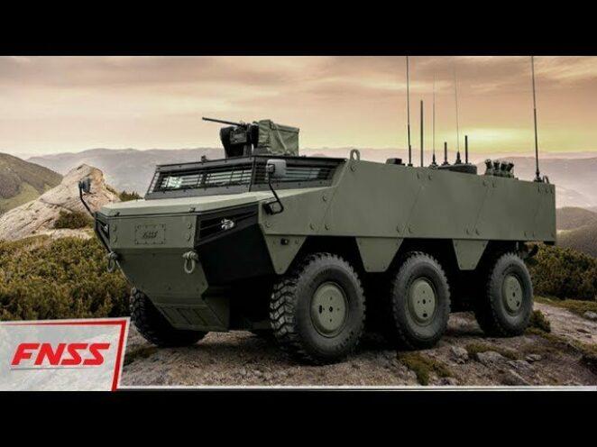 FNSS'nin yerli katkı olarak en yüksek orana sahip aracı PARS İZCİ