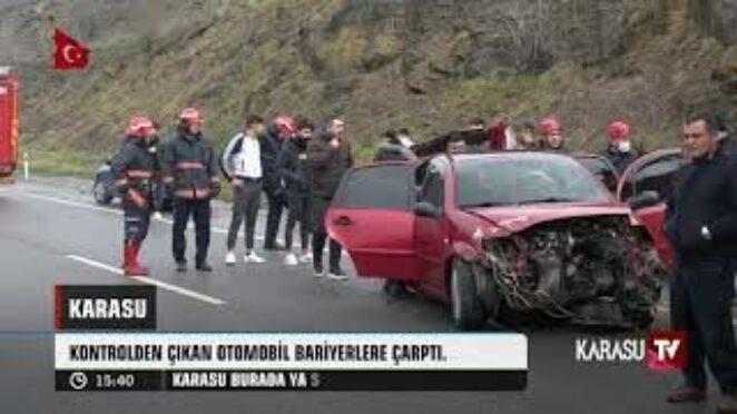 Karasu TV | Trafik Kazasında 1 Kişi Yaralandı. SAKARYA