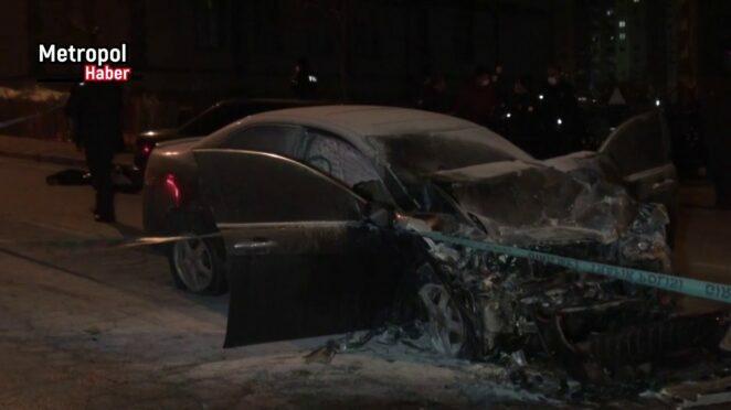 Kayseri Trafik kazası 1 ölü 1 i agır 4 yaralı_metropolhaber.net