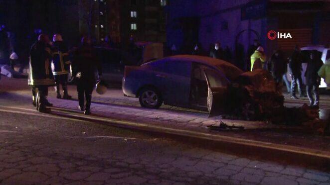 Kayseri'de feci kaza: 1 ölü, 5 yaralı