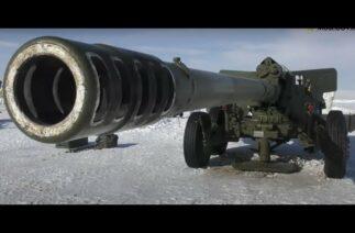 Kazakistan, Sümbül topçu sistemi ile atışlar gerçekleştirdi