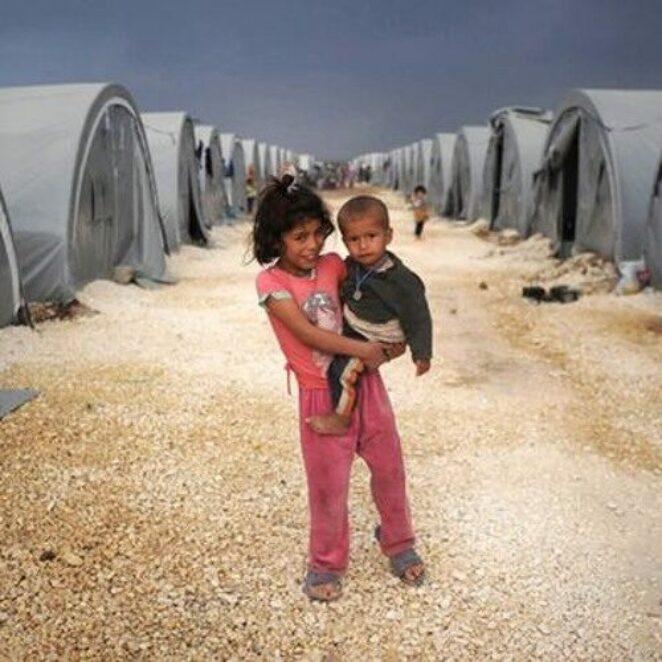 Mültecilerin açlıkla imtihanı