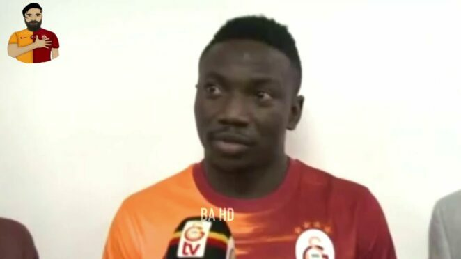 Oghenekaro Etebo Galatasaray'da Komik Anlar | Funny Moments 2021
