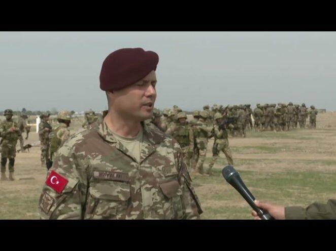 Özbekistan ve Türkiye'nin ortak askeri tatbikatı başladı