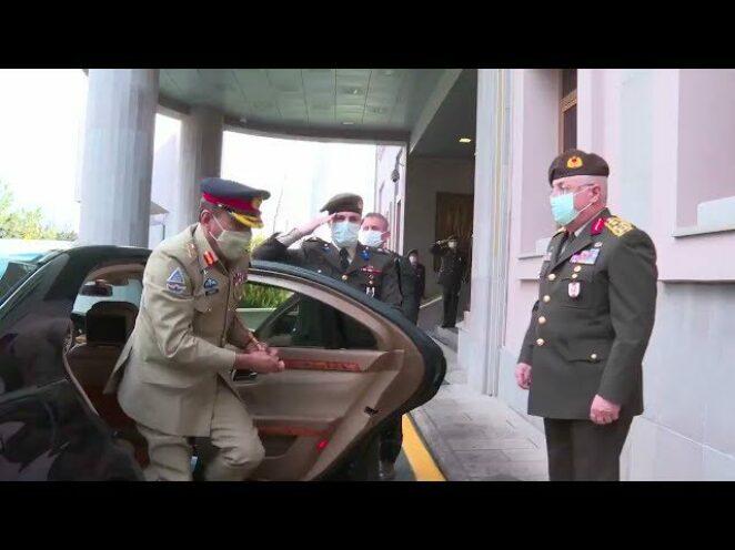 Pakistan genel Kurmay Başkanı Orgeneral Nadeem Raza'dan MSB'yi ziyaret etti