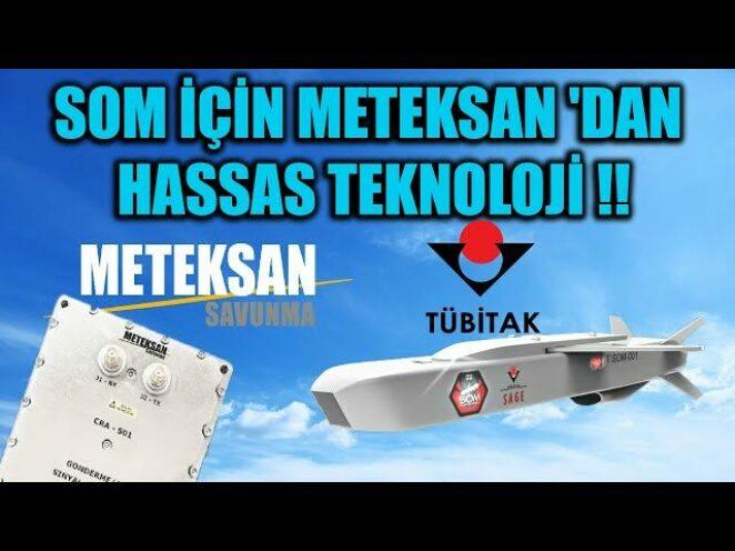 SOM İÇİN METEKSAN 'DAN HASSAS TEKNOLOJİ !!