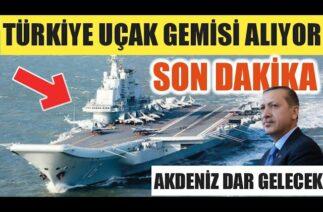 SON DAKİKA / TÜRKİYE UÇAK GEMİSİ ALIYOR !