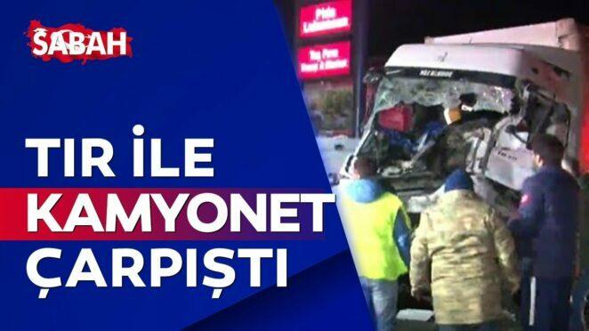 Sakarya'da feci kaza! 1 ölü, 2 ağır yaralı