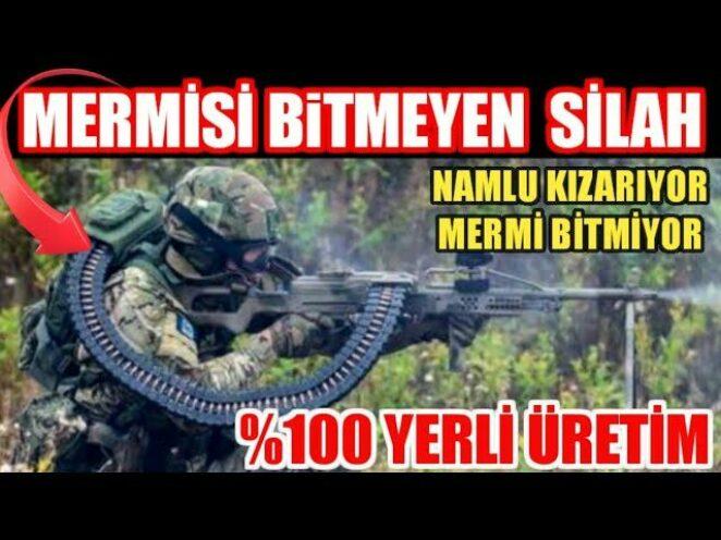 Savunma Sanayi I BİTMEYEN ŞARJÖR Mehmetçiğin Kullanımına Sunuldu
