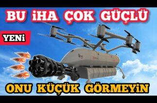 Savunma Sanayi Yerli ALBATROS Drone Göreve Hazır
