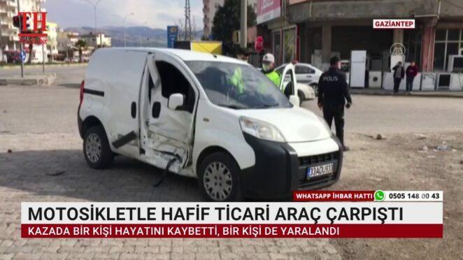 TRAFİK KAZALARI YİNE CAN ALDI
