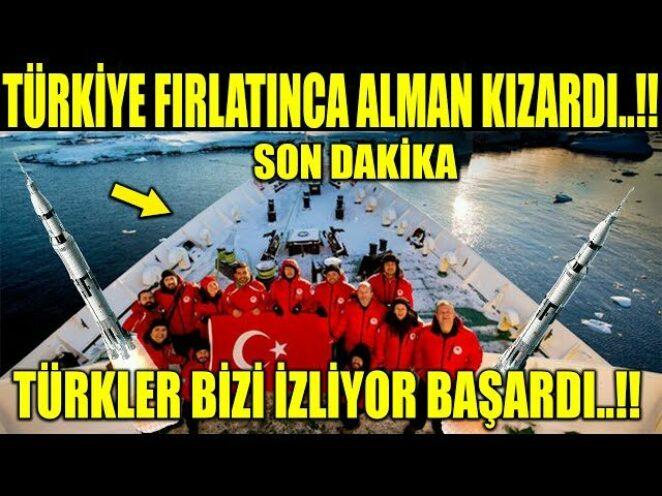 TÜRKİYE FIRLATTI SES ALMANDAN GELDİ..!! TÜRKİYENİN BAŞARISI PERÇİNLENDİ..!!
