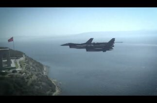 Türk F-16'ları Çanakkale'de