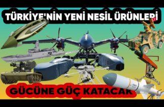 Türk Savunma Sanayi, Yeni Nesil Ürünleriyle Türkiye'nin Gücüne Güç Katacak