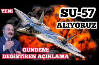Türkiye Su 57 Savaş Uçaklarını Alacakmı ? – Savunma Sanayi