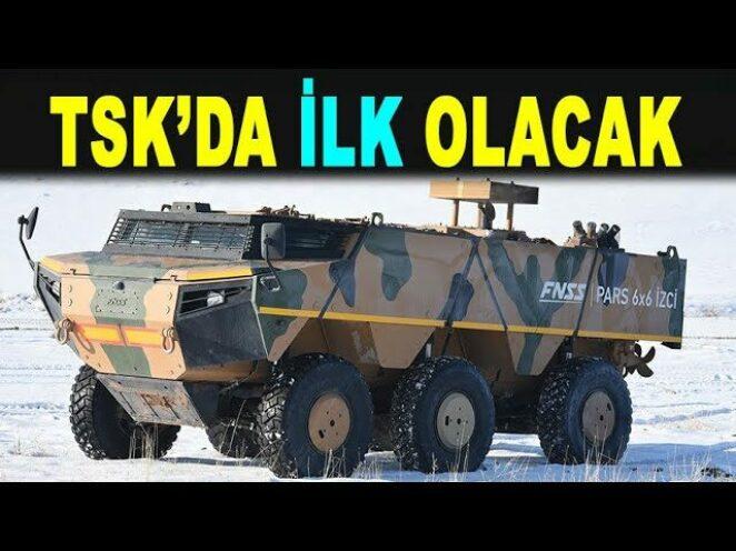 Türkiye'nin yeni zırhlısı PARS İZCİ seri üretimde – Production of PARS İZCİ 6X6 begins – FNSS