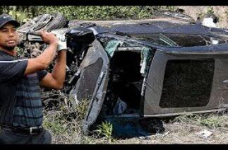 Ünlü golfçü Tiger Woods trafik kazası geçirdi