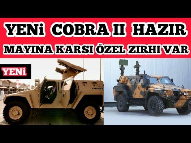 YENİ COBRA II ARACIMIZ GÖREVE HAZIR – Savunma Sanayi