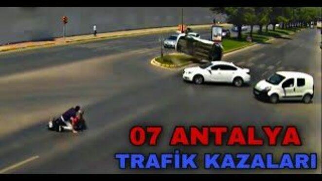 07 ANTALYA – TRAFİK KAZALARI