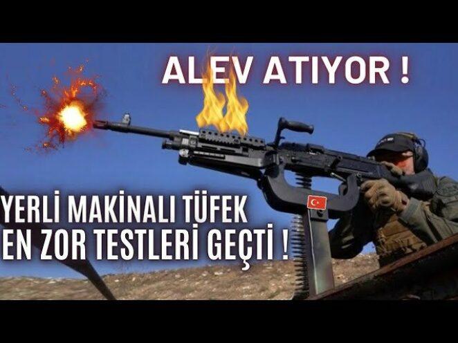 ALEV ATIYOR !🔥 NATO'YU ŞARŞIRTAN YERLİ TÜFEK TÜM TESTLERİ GEÇTİ ! SERİ ÜRETİM BAŞLIYOR !!!