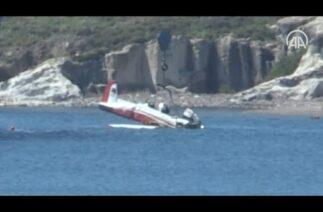 Adalar Denizi'ne düşen askeri uçak çıkarıldı – Savunma Sanayi
