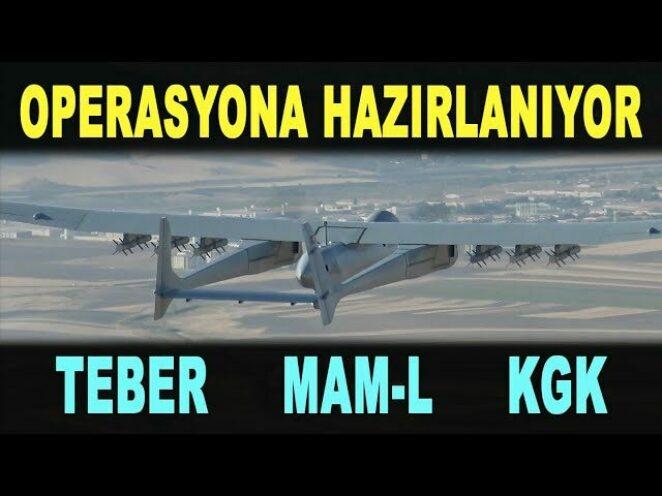 Aksungur SİHA yeni silahını ateşledi: KGK – Aksungur armed UAV preparing for combat – Savunma Sanayi