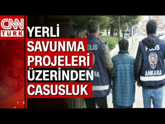 Ankara'da 'Askeri Casusluk' soruşturmasında 9 gözaltı kararı 6'sı yakalandı