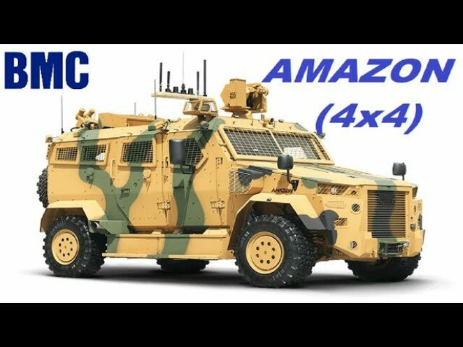 BMC Amazon Türk Savunma Sanayi Silahları