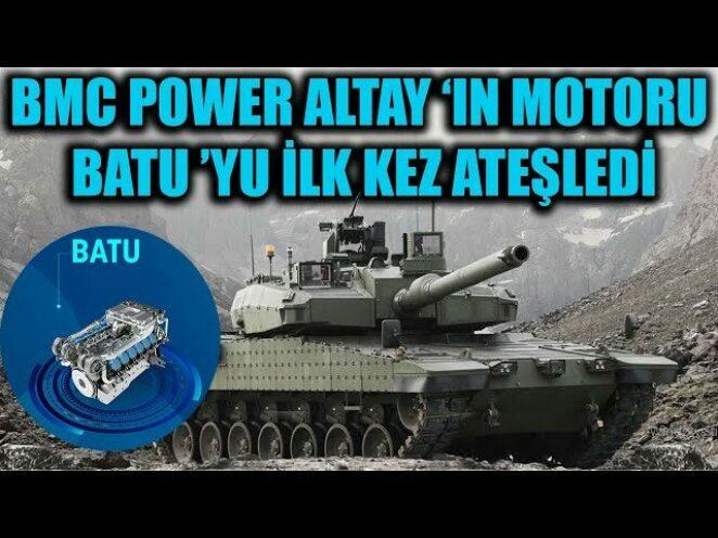 BMC POWER ALTAY 'IN MOTORU BATU 'YU İLK KEZ ATEŞLEDİ