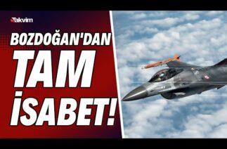Başkan Erdoğan böyle duyurdu! Türkiye'nin ilk havadan havaya atış füzemiz Bozdoğan'dan tam isabet