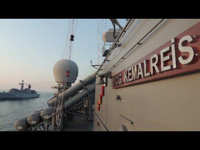 Batı Karadeniz'de Sea Shield-21 Davet Tatbikatı icra edildi