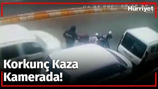 Korkunç Kaza! Motosikletine Binmeye Çalışıyordu…