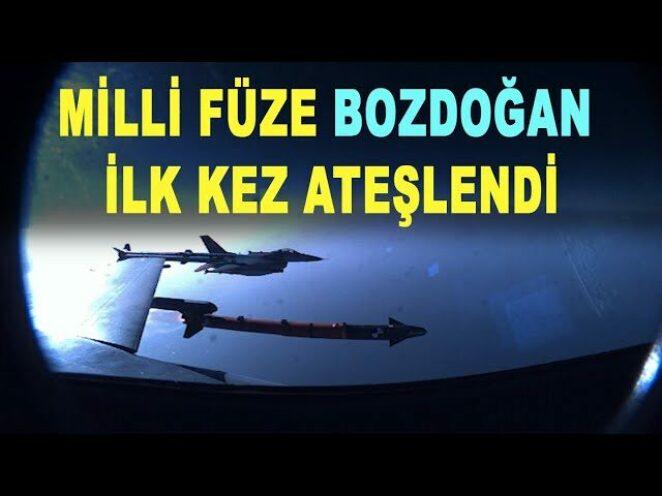 Milli füze BOZDOĞAN'dan ilk seferde tam isabet – Savunma Sanayi – F-16 – Akıncı TİHA – MMU