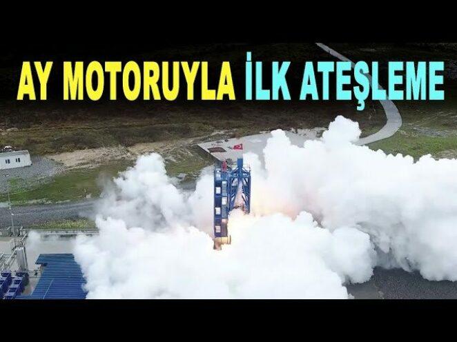 Milli hibrit roket motoruyla ilk ateşleme – Delta V – SORS motoru – Savunma Sanayi