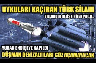 ROKETSAN YAPTI TÜRKİYE'NİN DENİZALTI AVCISI / SAVUNMA SANAYİ