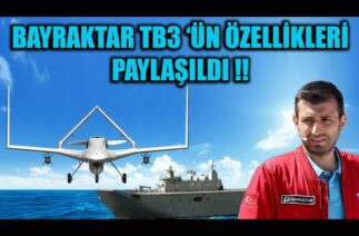 SELÇUK BAYRAKTAR BAYRAKTAR TB3 'ÜN ÖZELLİKLERİNİ PAYLAŞTI !!