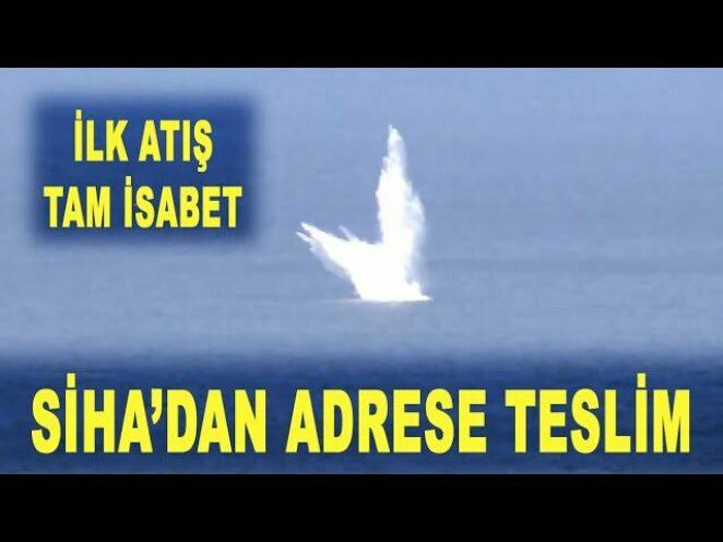 SİHA kanatlı bombayı adrese teslim etti – KGK-SİHA-82 – Aksungur – Savunma Sanayi – TÜBİTAK SAGE