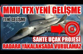 Savunma Sanayi I MMU TFX Savaş Uçağında Yeni Gelişme