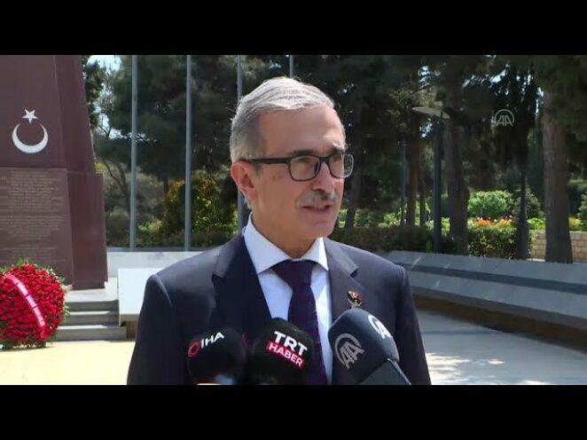 Savunma Sanayii Başkanı İsmail Demir Azerbaycan'da