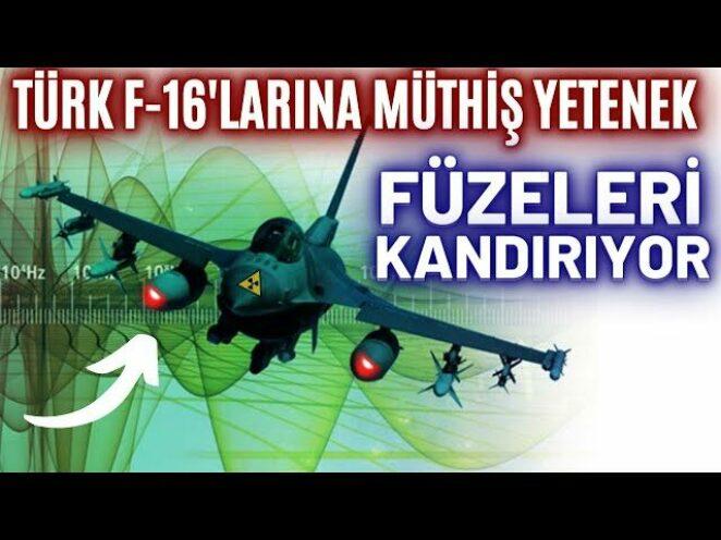 TÜRK F-16'LARINA FÜZELERİ KANDIRMA YETENEĞİ EKLENDİ ! TESLİMATLAR TAMAMLANDI ! ASELSAN SPEWS 2