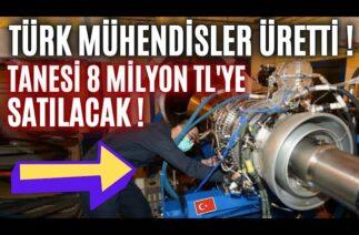 TÜRK MÜHENDİSLER ÜRETTİ TANESİ 8 MİLYON TL'YE İHRAÇ EDİLECEK !! EKONOMİYE BÜYÜK KATKI !!