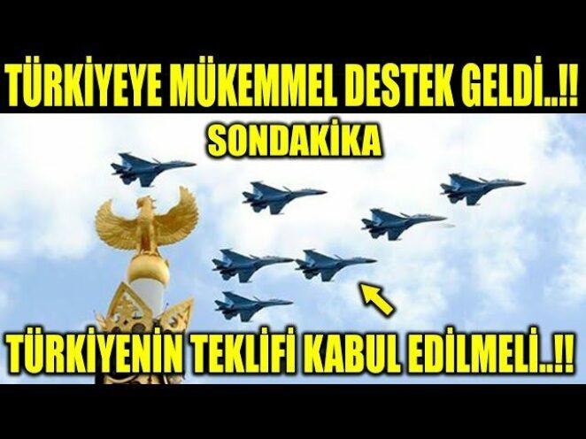 TÜRKİYEYE MÜKEMMEL DESTEK GELDİ..!! TÜRKİYENİN TEKLİFİ KABUL EDİLSİN..!!