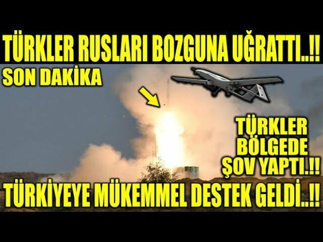 TÜRKLER BÖLGEDE ŞOV YAPTI..!! TÜRKİYEYE MÜKEMMEL DESTEK GELDİ..!!