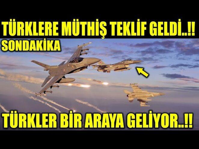 TÜRKLERE MÜKEMMEL TEKLİF TÜRKLER BİR ARAYA GELİYOR..!!