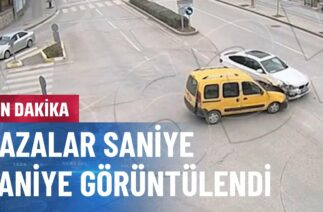 Trafik Kazaları Güvenlik Kamerasında
