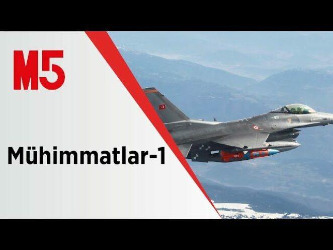 Türk Hava Kuvvetleri'nin Kısa Menzilli HSS Koruması Altındaki Hedeflere Taarruz Mühimmatları