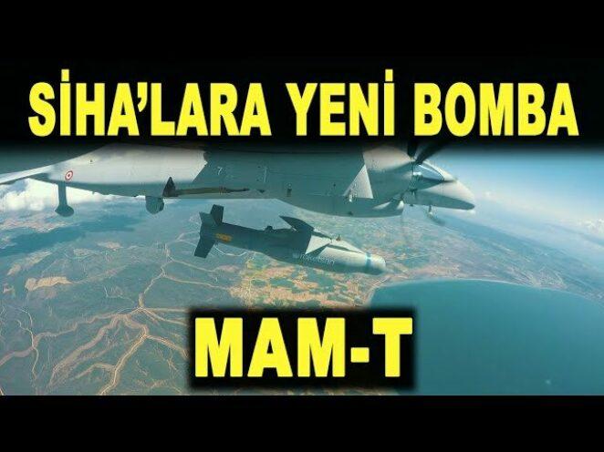 Türk SİHA'ların yeni silahı MAM-T – Savunma Sanayi – ROKETSAN – Akıncı TİHA – Aksungur – SİHA